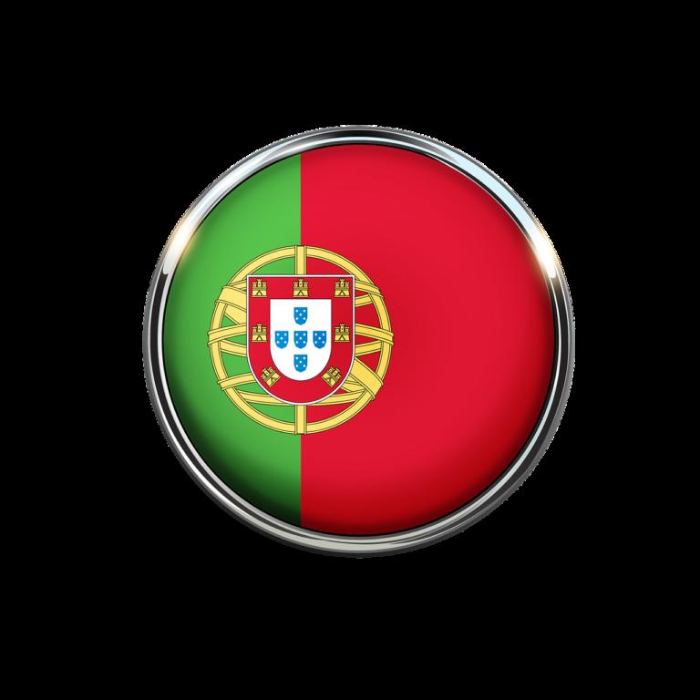 דגל פורטוגל על כדור