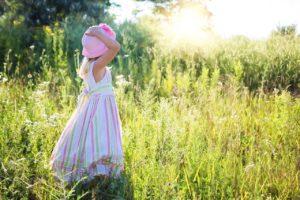 ילדים בטבע ראשית